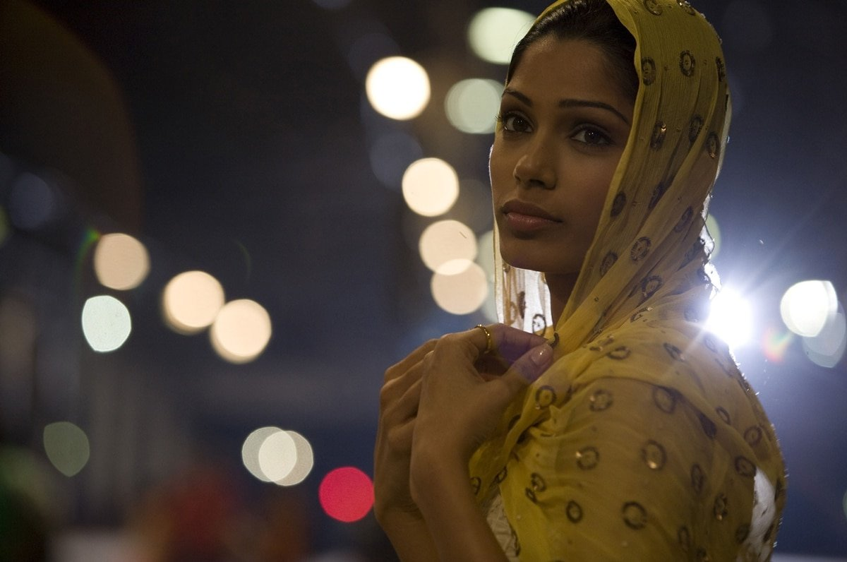 Freida Pinto was 23-years-old when filming the drama Slumdog Millionaire