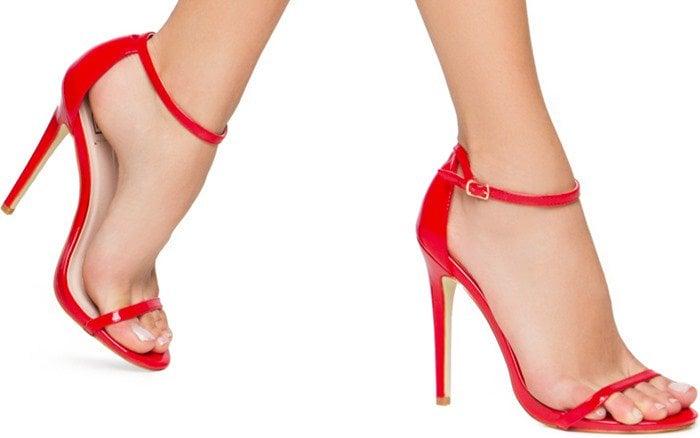 Galya minimalist heeled sandals