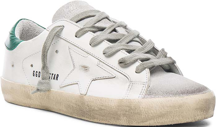 Golden Goose Superstar Green