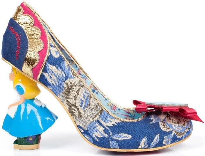 Irregular Choice Alice In Wonderland Curious Feeling Heels