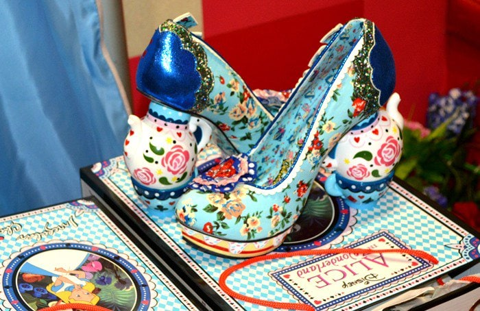 Irregular Choice Alice In Wonderland One Lump Or Two Teapot Heels