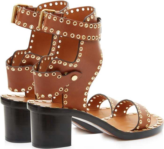 Isabel Marant Jaeryn Eyelet Sandals