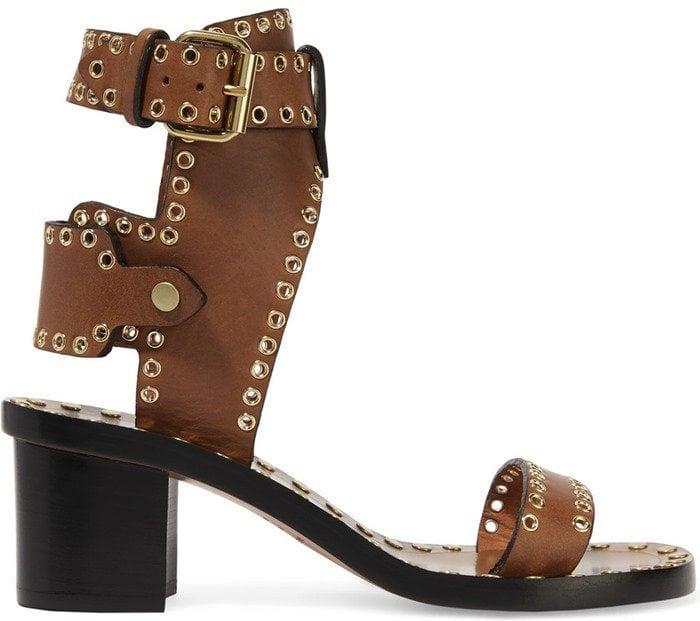Isabel Marant Jaeryn embellished leather sandal