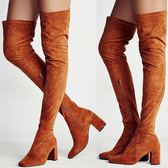 Jeffrey Campbell Parkway thigh boots