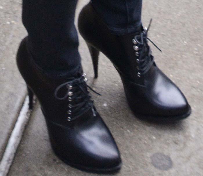 Jennifer Lawrence NYC Hotel Givenchy Boots 2