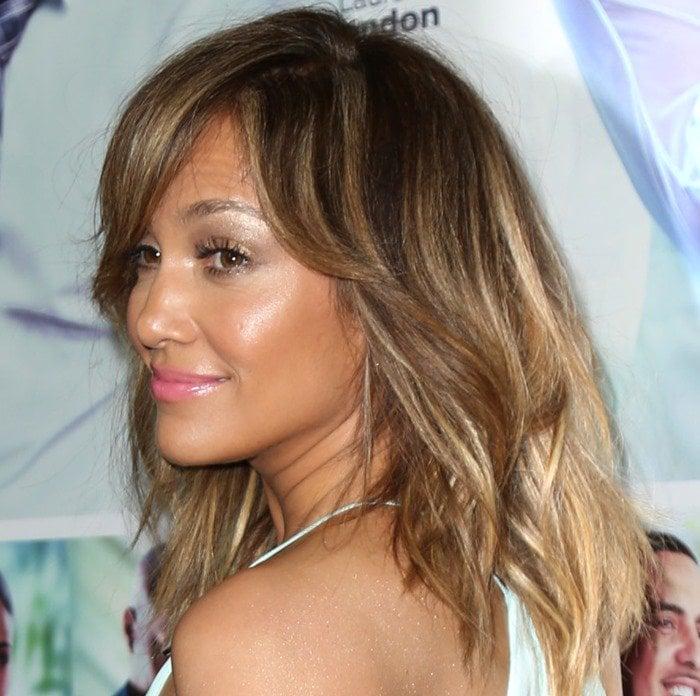 Jennifer Lopez accessorized with Graziela Gems earrings
