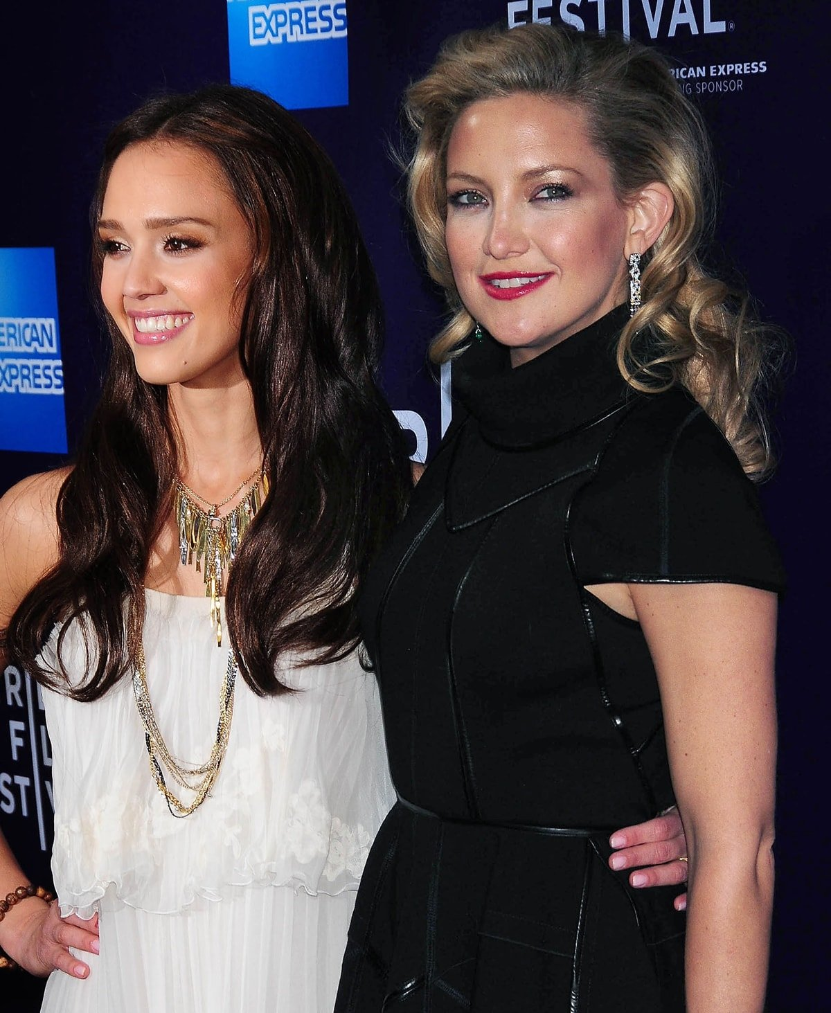 """Jessica Alba and Kate Hudson attend the """"The Killer Inside Me"""" premiere"""
