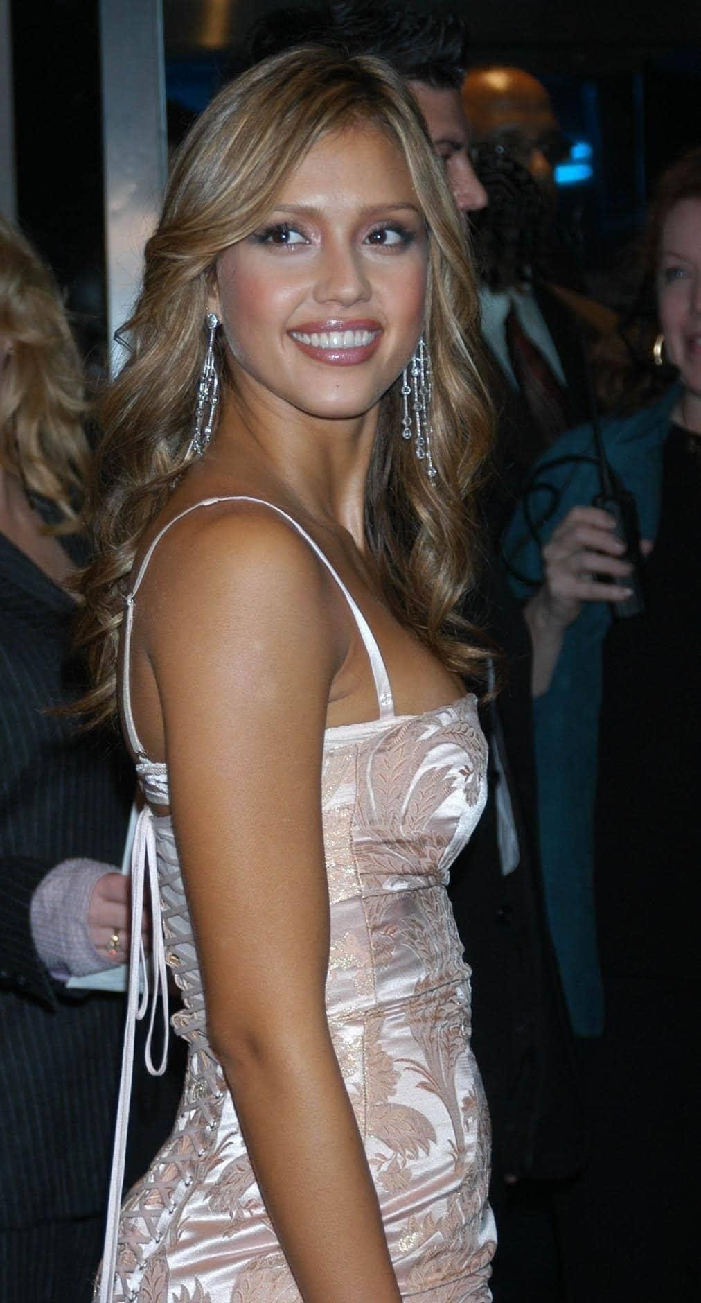 Jessica Alba at the premiere of Honey