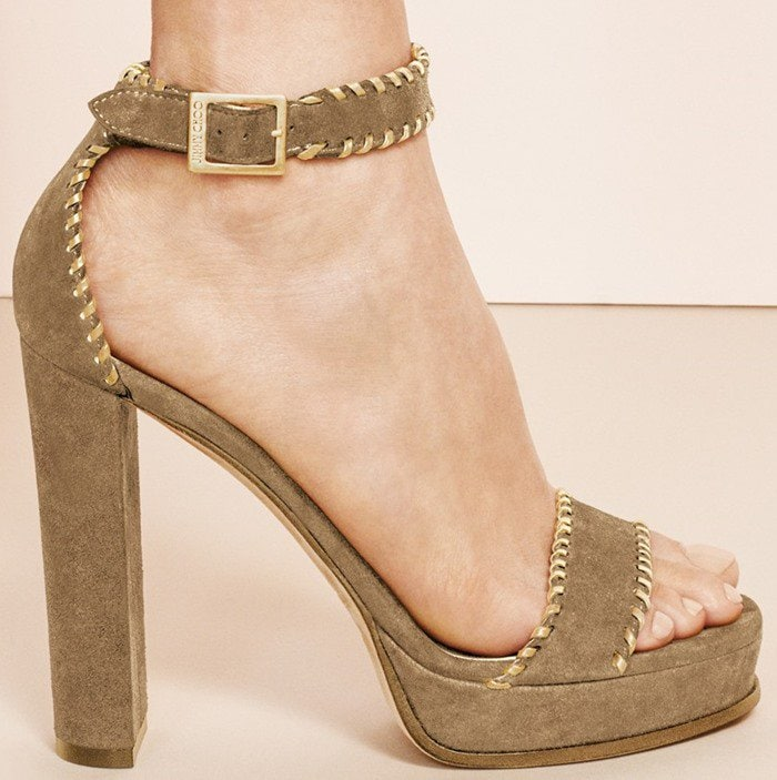 Jimmy Choo Holly Ankle-Strap Sandals