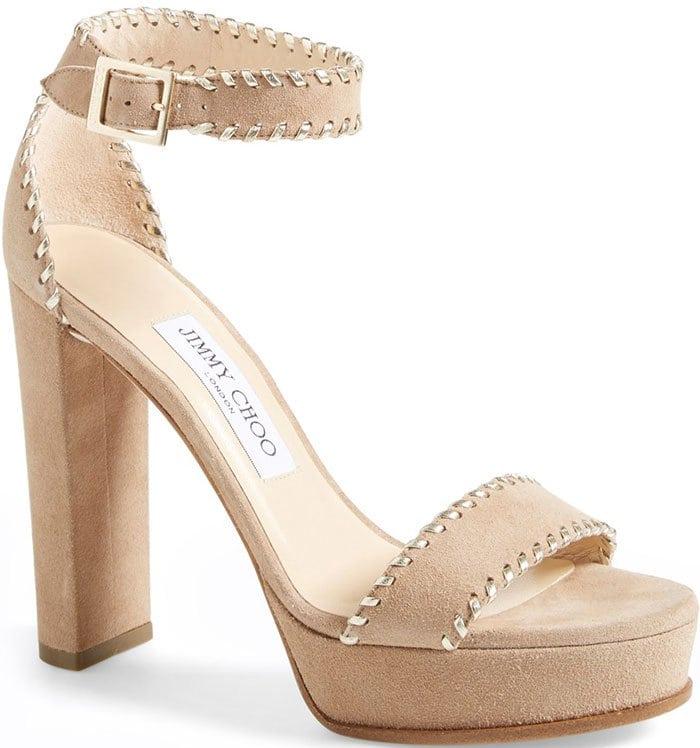 Jimmy-Choo-Holly-platform-nude-suede-sandals