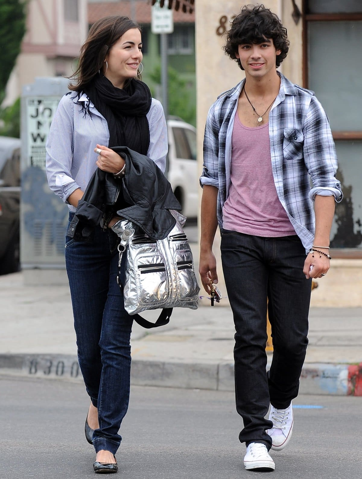 """After meeting on the set of the Jonas Brothers' """"Lovebug"""" music video, Joe Jonas dated Camilla Belle for a few months between late 2008 and mid–2009"""