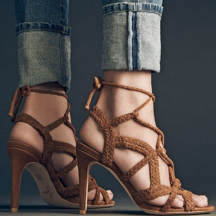 Joie Tonni Suede Strappy Sandal