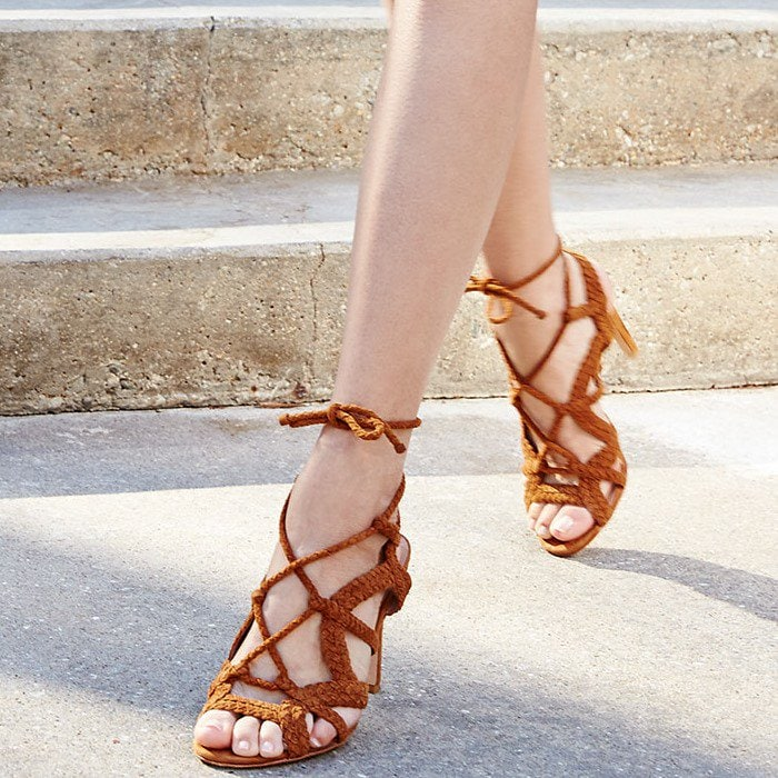 Joie Tonni Suede Strappy Sandals