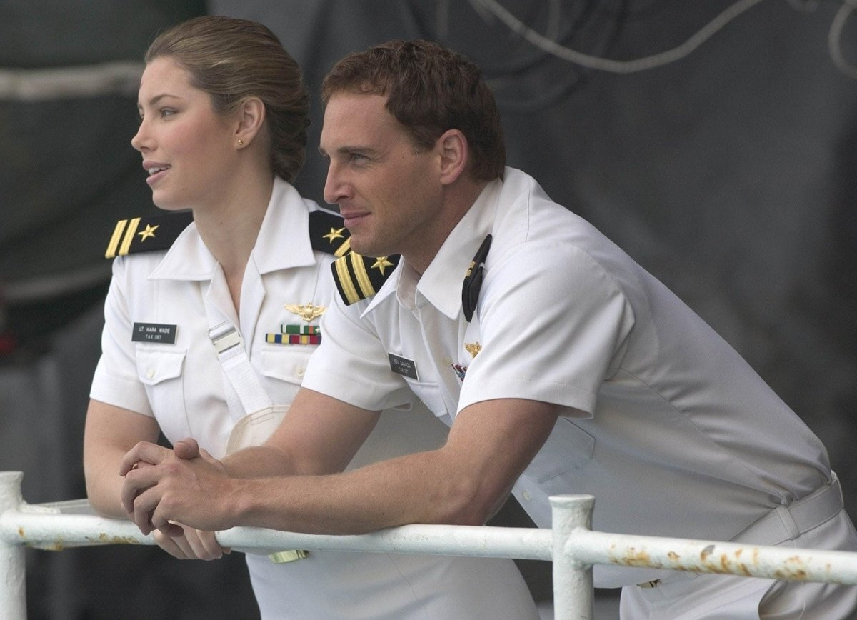 Josh Lucas was 34 and Jessica Biel 23 years old when Stealth was released on July 29, 2005