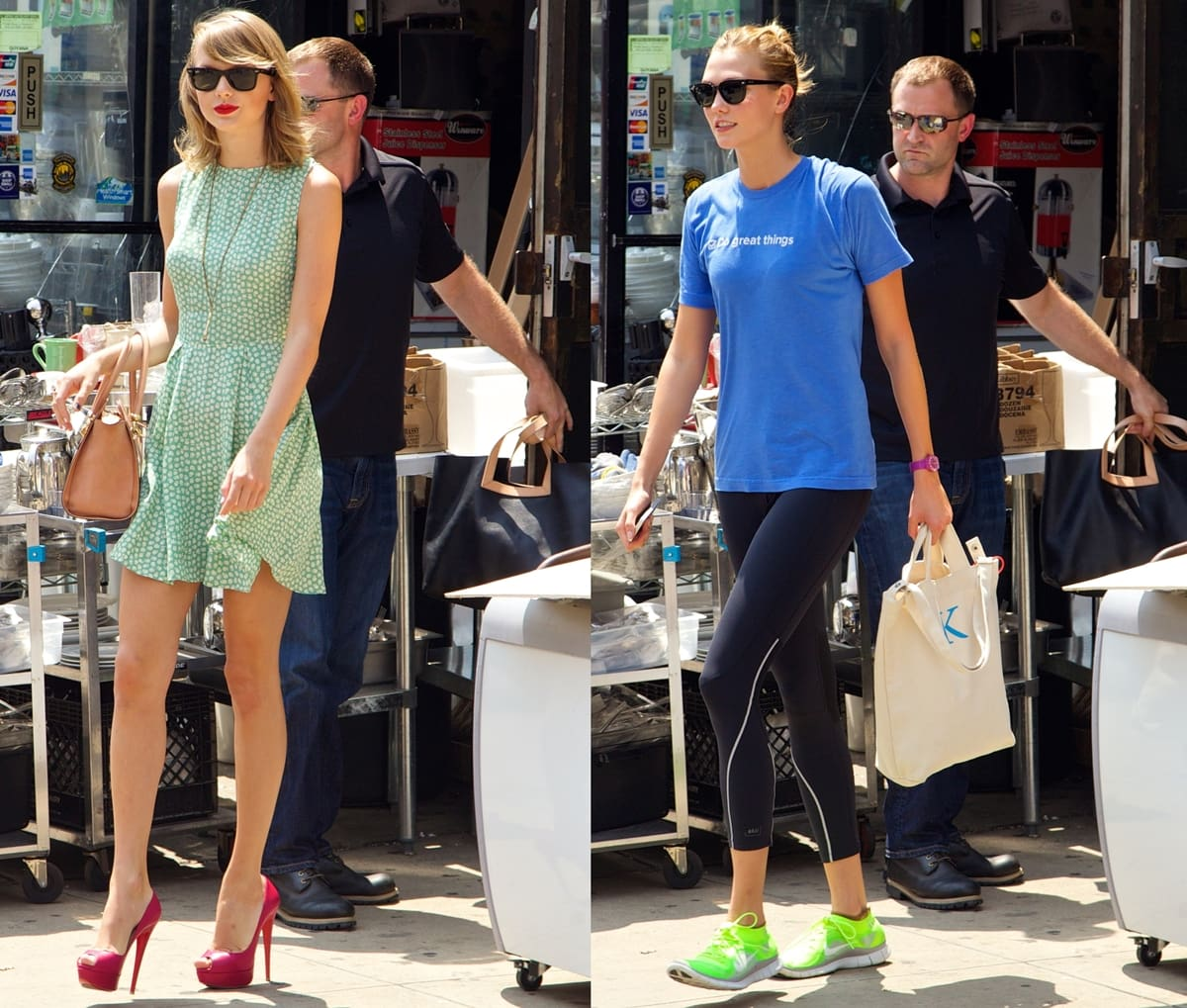 After meeting at the 2013 Victoria's Secret Fashion Show, Taylor Swift and Karlie Kloss became best friends