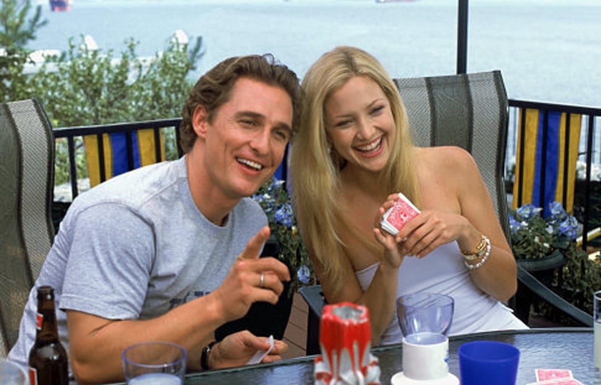 Kate Hudson and Matthew McConaughey improvised many scenes in How to Lose a Guy in 10 Days