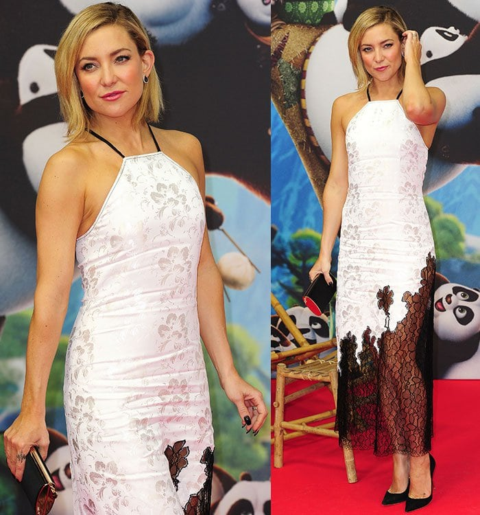 Kate-Hudson-Wes-Gordon-white-floral-dress-sheer-lace