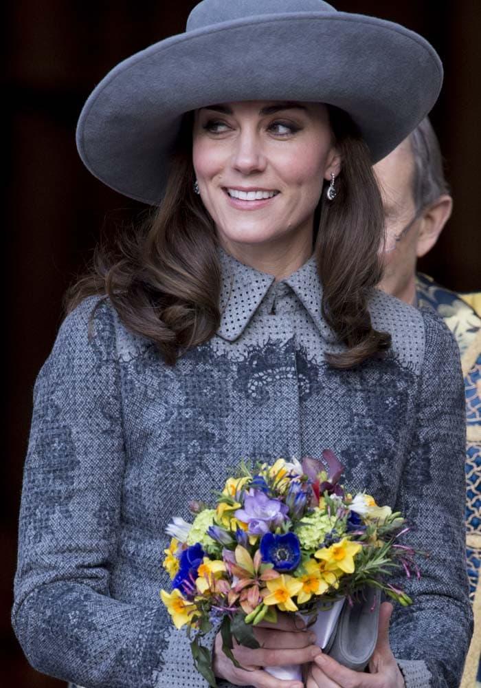 Kate Middleton Commonwealth Day Rupert Sanderson 1