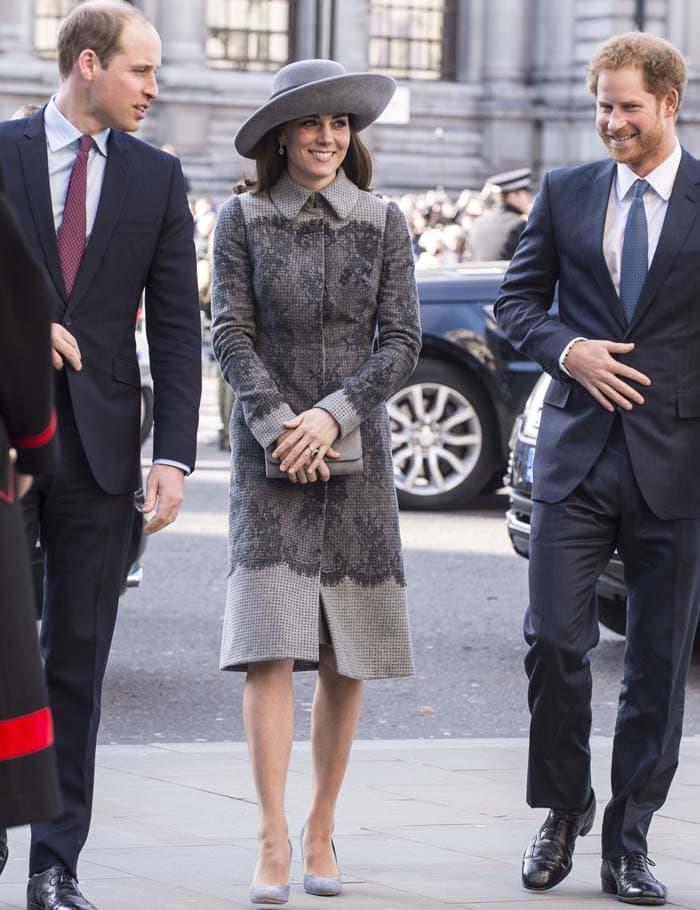 Kate Middleton Commonwealth Day Rupert Sanderson 4