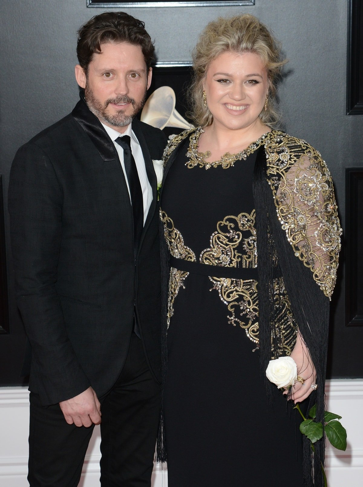 Kelly Clarkson and Brandon Blackstock met for the first time when she was rehearsing before the American Country Music Awards in 2006
