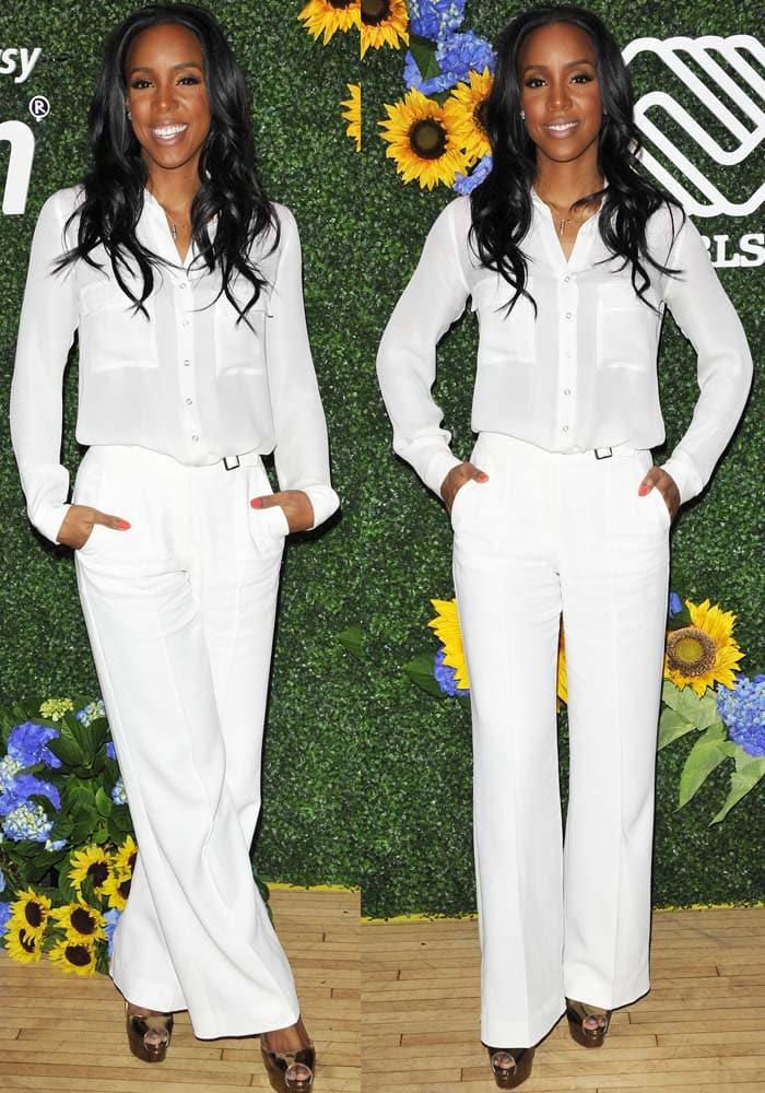 Kelly Rowland Claritan AOL Brian Atwood 2