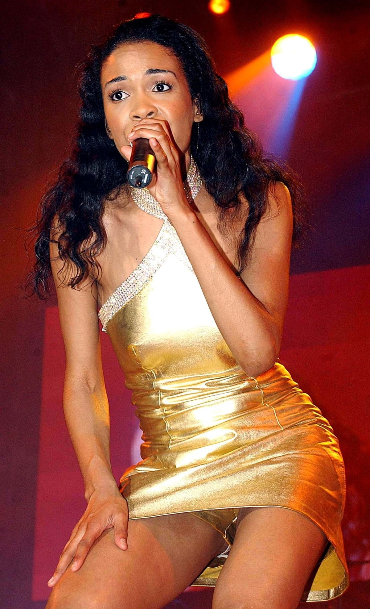 Kelly Rowland of Destiny's Child in concert at the Point Theatre in Dublin, Ireland
