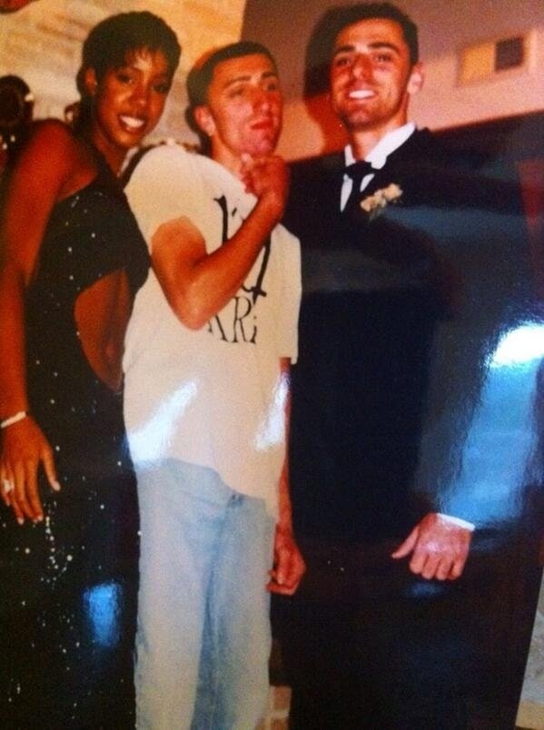 Foti Kallergis and Kelly Rowland dated from 1997 to 1999