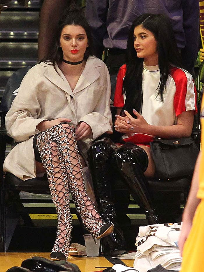 Kendall and Kylie Jenner rocking their favorite boots