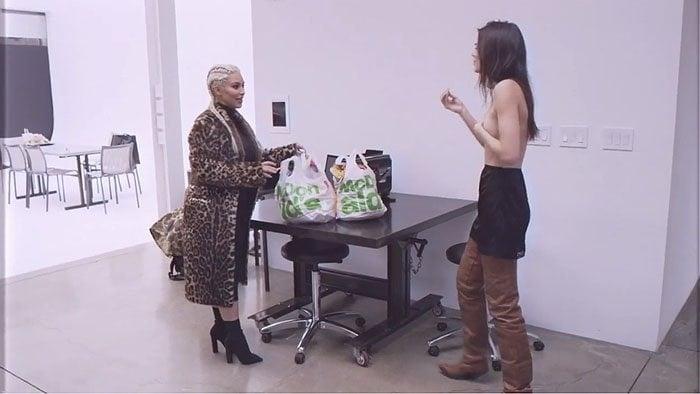 Kim Kardashian Kendall Jenner McDonalds