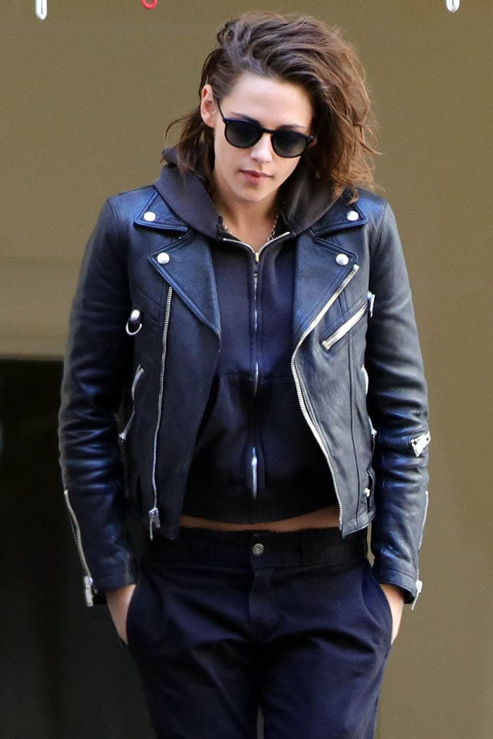 Kristen Stewart has remained true to is her signature tomboyish style