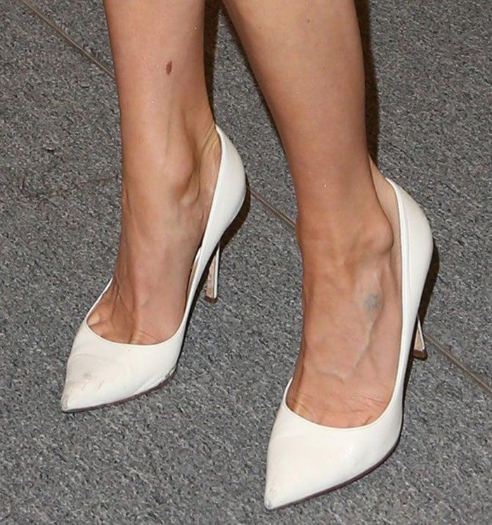 Kristin-Cavallari-white-pumps