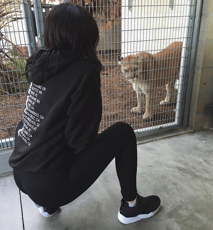 Kylie Jenner Puma vs Puma