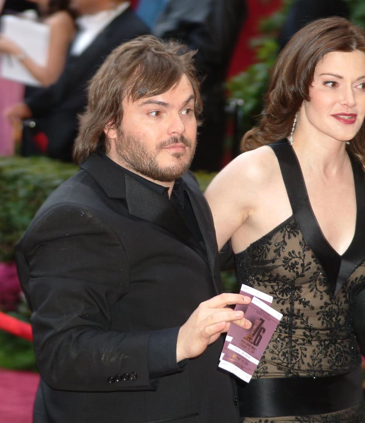 Laura Kightlinger and Jack Black dated from 1996 through early 2005