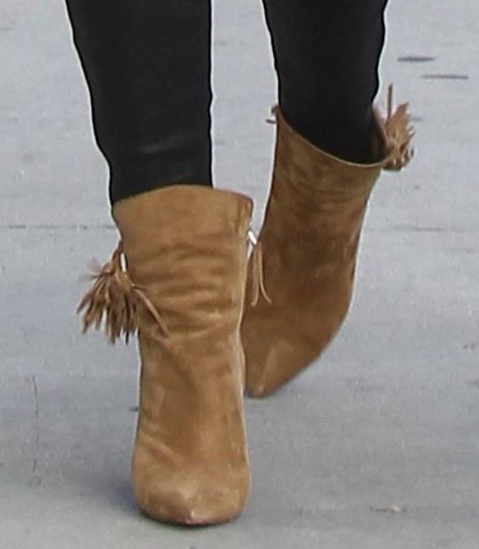 Lily-Aldridge-Isabel-Marant-Leyton-Suede-Tassel-Boots