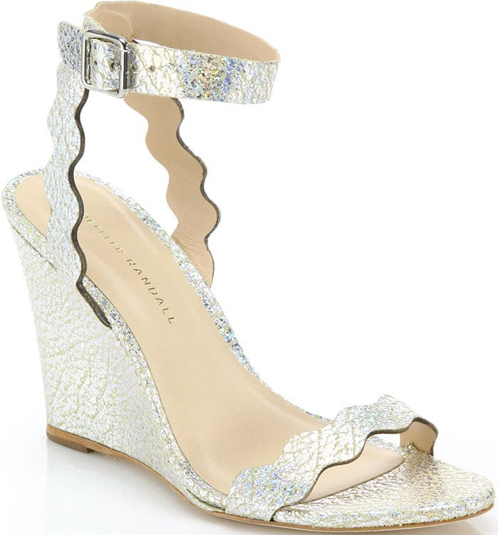 Loeffler-Randall-Piper-Crackled-Metallic-Leather-Scallop-Wedge-Sandals