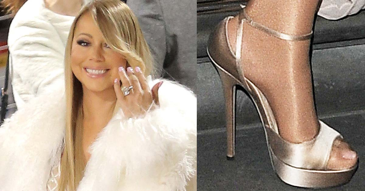 c38cbd2b63d Mariah Carey Runs Late and Takes Boat to Her London Show