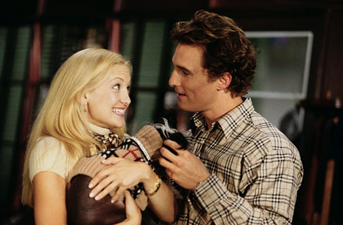 Matthew McConaughey was 33 Kate Hudson was 23 years old when How to Lose a Guy in 10 Days was released in 2003