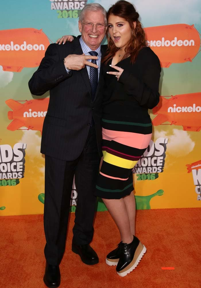 Meghan Trainor Kids Choice Stella McCartney 4
