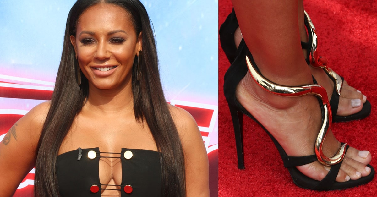 Mel B Reminisces On Spice Girls Days In Giuseppe Zanotti