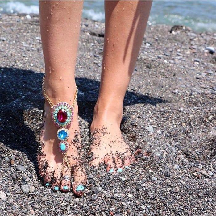 Mystique Jewel-Embellished Sandals