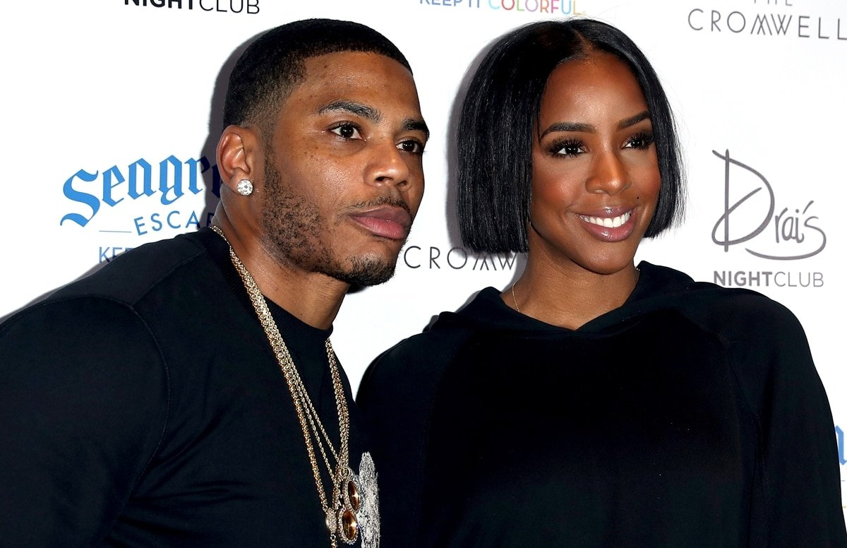 Nelly and Kelly Rowland were rumored to be dating in 2002
