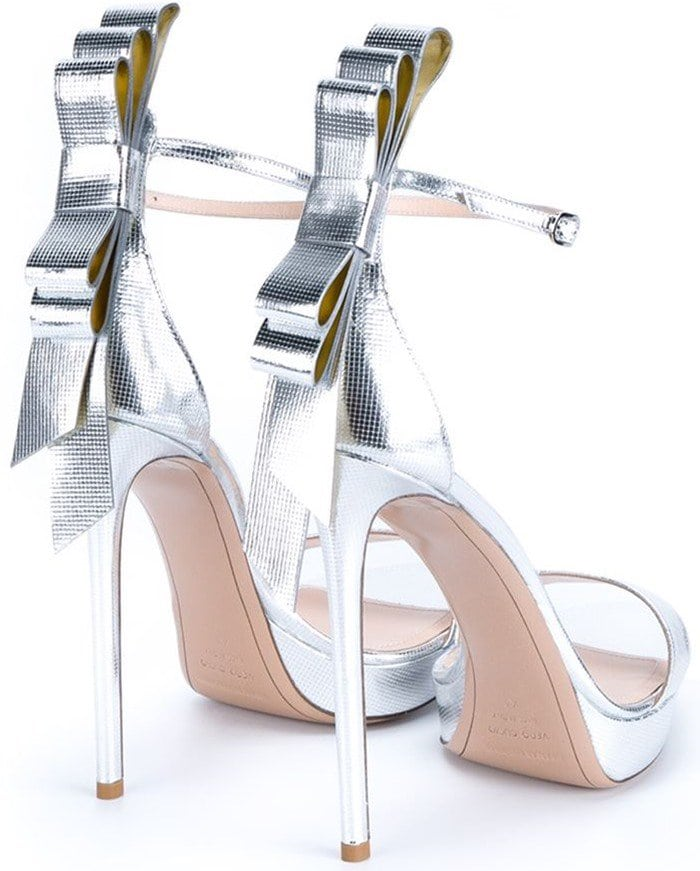 Nicholas Kirkwood Bow Embellished Faye Leather Sandals