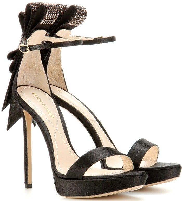 Nicholas Kirkwood Faye embellished sandals