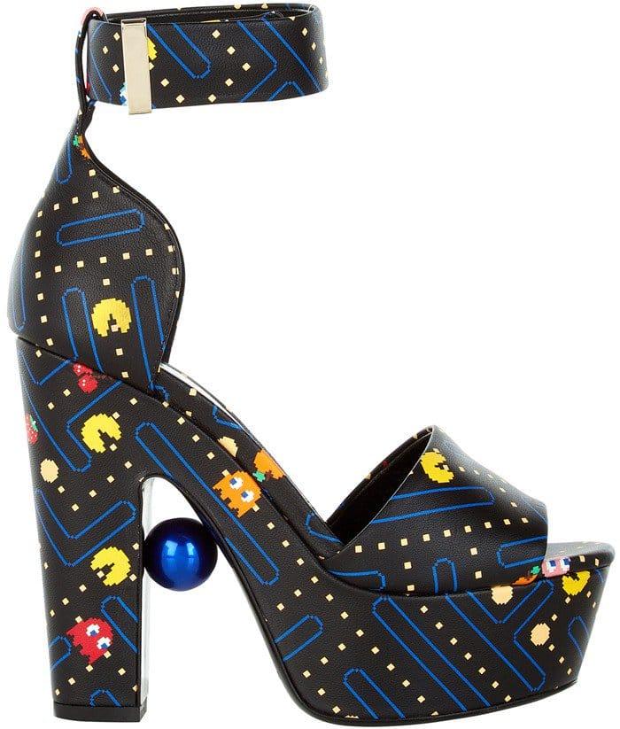 Nicholas Kirkwood Maya Platform Sandals in Pac-Man Print