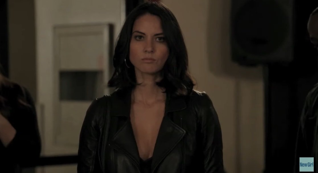 Olivia Munn was 32 years old when starring as Angie, Nick's stripper girlfriend, in three episodes in Season Two of FOX's sitcom New Girl