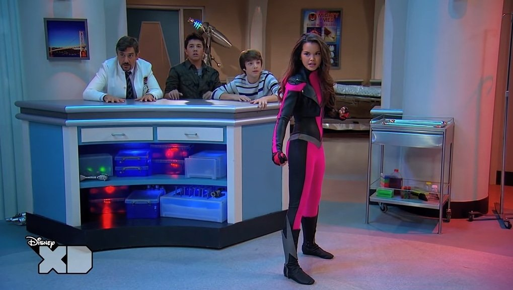 Paris Berelc is known for her role as Skylar Storm in the Disney XD series Mighty Med and Lab Rats: Elite Force