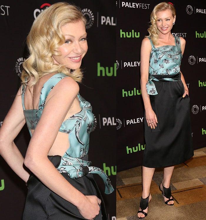 Portia-de-Rossi-3.1-Phillip-Lim-two-piece-cutout-dress