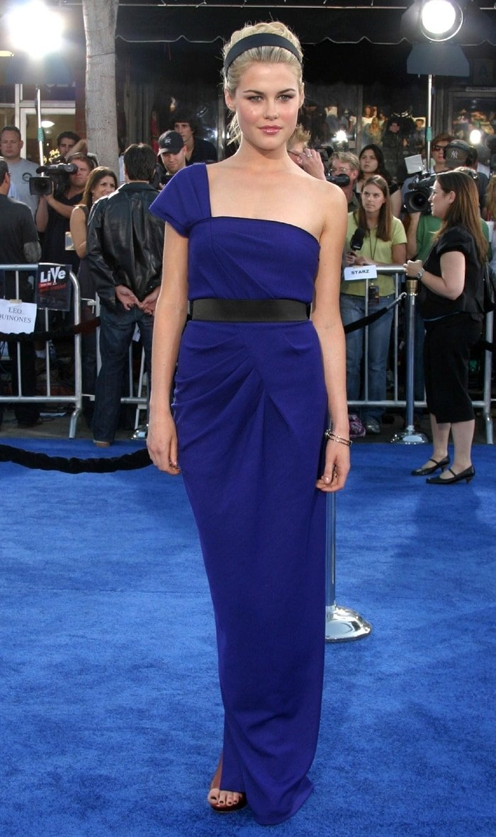 Rachael Taylor at the premiere of 'Transformers'