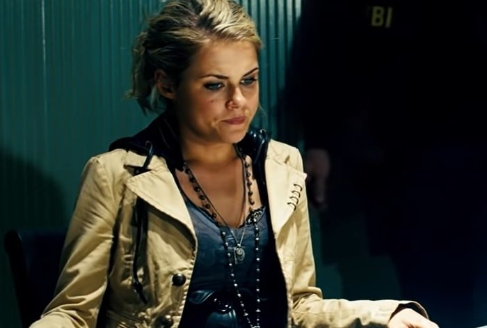Rachael Taylor portrayed Maggie Madsen, a blonde signals analyst, in the 2007 Transformers