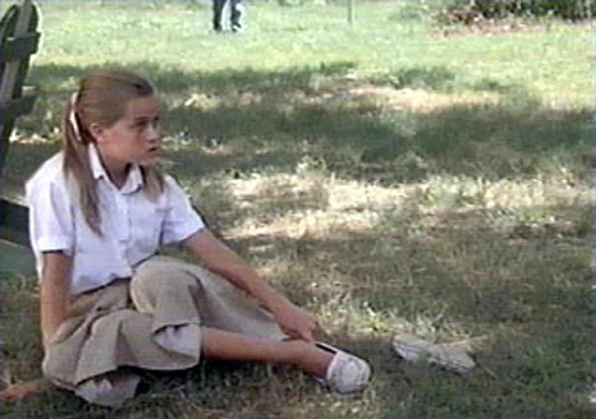 When shooting The Man in the Moon, Reese Witherspoon was 14 years old, the same age as her character in the film